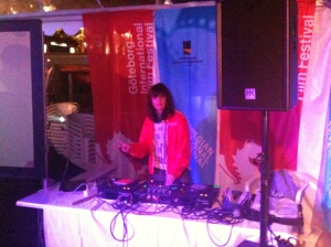 "GIFF ""house DJ"" Nina Natri."